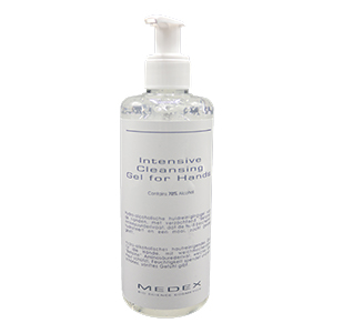 INTENSIVE CLEANSING GEL FOR HANDS 70% ALCOHOL 250 ML.